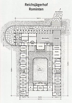 Plan Reichsjagerhof Rominten