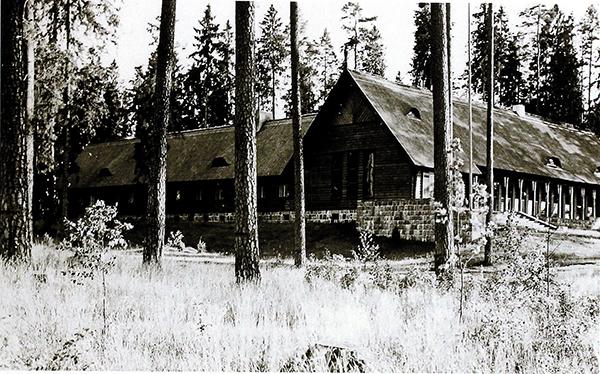 Reichsjagerhoff blick von Nord Имперский охотничий двор Роминтен