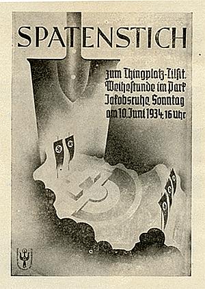 Spatenstich Thingplatz Tilsit 1934