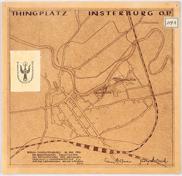Thingplatz Insterburg Тингплац Инстербург