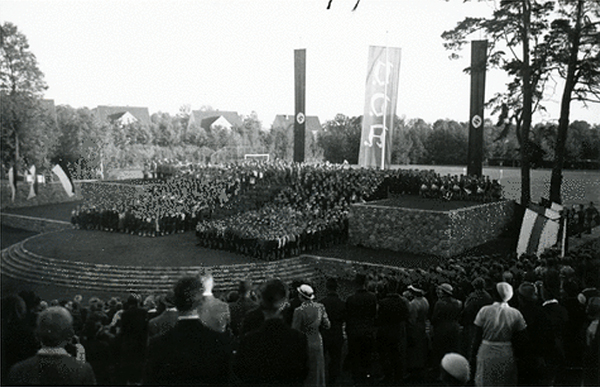 Tilsit Sowetsk Thingplatzeinweihung 1935