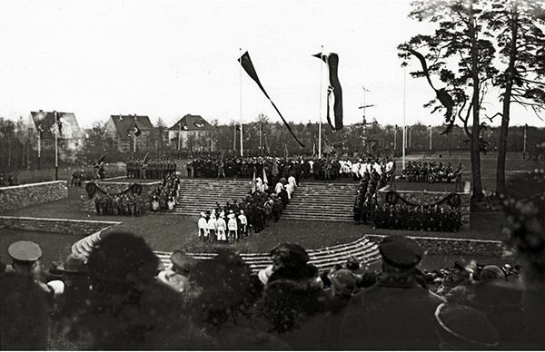 Tilsit Sowetsk Thingplatzeinweihung 1935 Тингплацы Восточной Пруссии