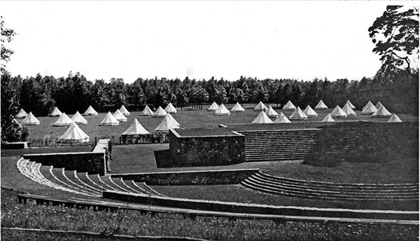 Tilsit Sowetsk Zeltlager am Thingplatz 1935-1936