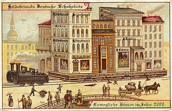 Hildebrands Deutsche Schokolade Назад в будущее