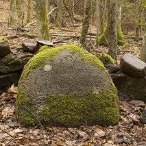 Памятный камень в честь лесничего Пауля Баркхаузена