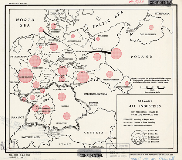 industry карты третьего рейха