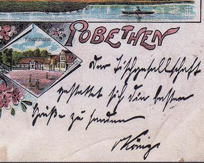 Побеттен в старых открытках