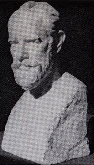 Reusch bust Фридрих Ройш