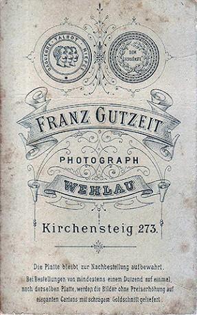 Franz Gutzeit Wehlau