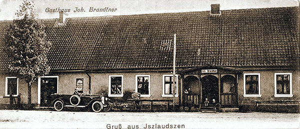 Gasthaus Jszlaudszen гостиницы Роминтской пущи