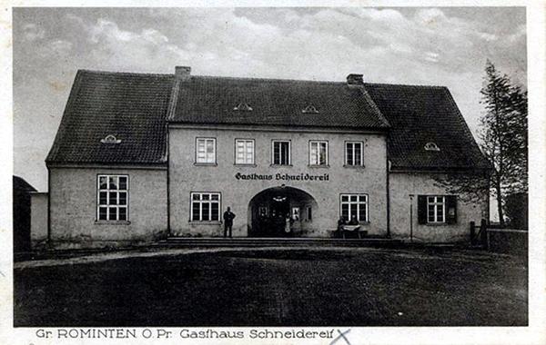 Gasthaus Schneidereif Gross Rominten