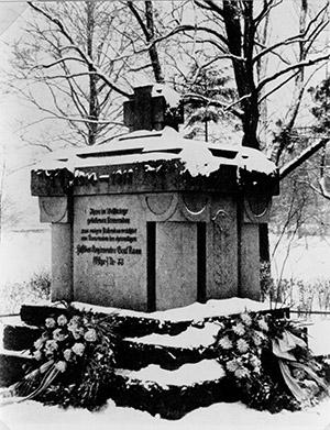 Heldendenkmal 33 Graf Roon 16 okt 1921