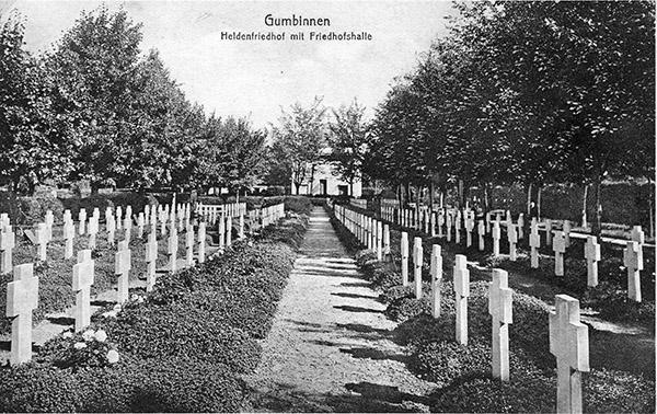 Heldenfriedhof in Gumbinnen