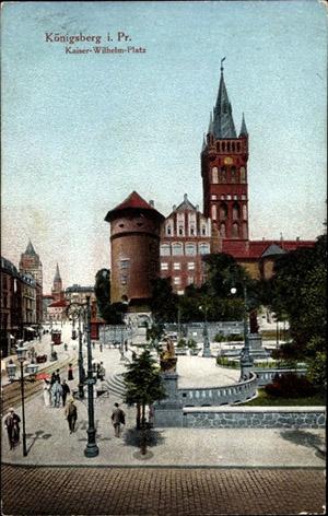 Kaiser Wilhelm Platz 1917