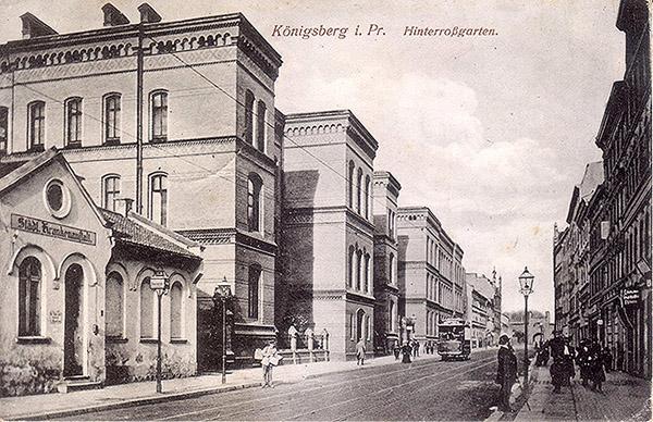 Koenigsberg Hinterrossgarten 1915