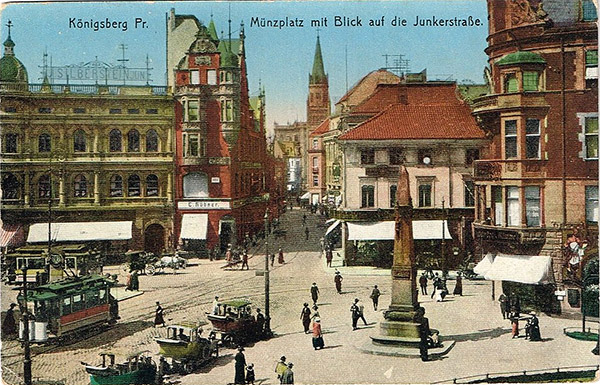 Koenigsberg Münzplatz 1916