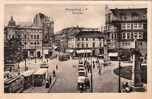 Koenigsberg Münzplatz