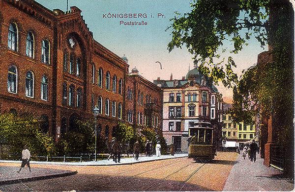 Koenigsberg Poststrasse 1917