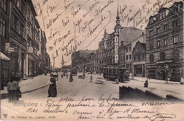 Koenigsberg Steindamm 1904