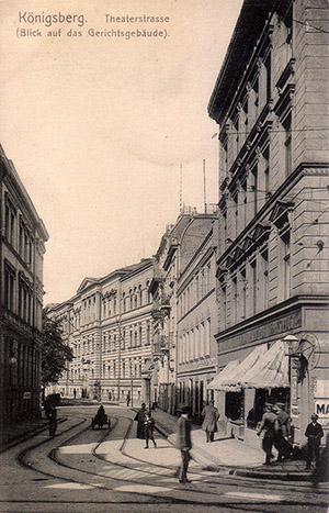 Koenigsberg Theaterstrasse
