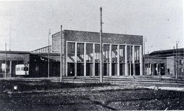 Koenigsberg strassenbahn depot