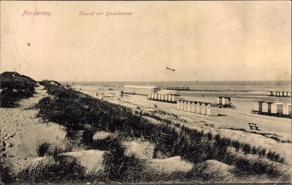 Norderney Badekarren 1912