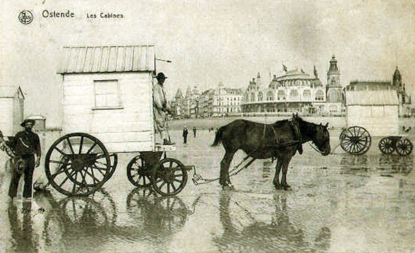 Ostende bathing-machine
