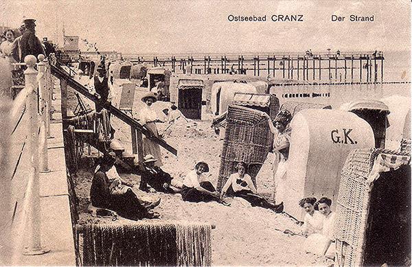 Ostseebad Cranz 1915