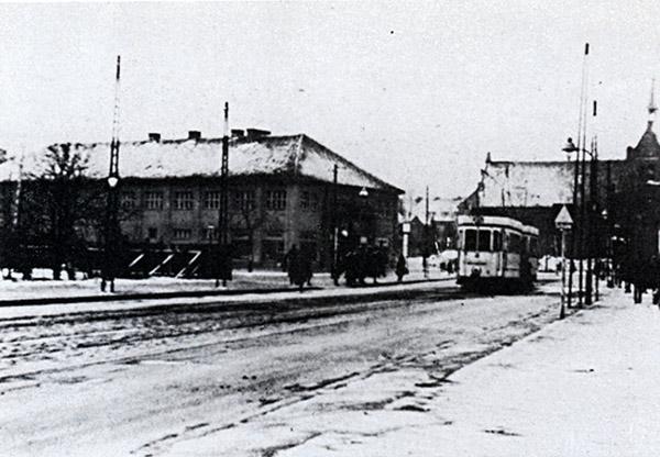 Ponarth Brandenburger strasse Strassenbahnlinie N 15