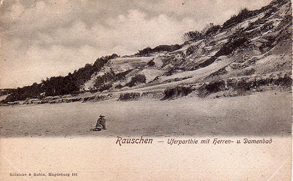 История пляжного отдыха Rauschen