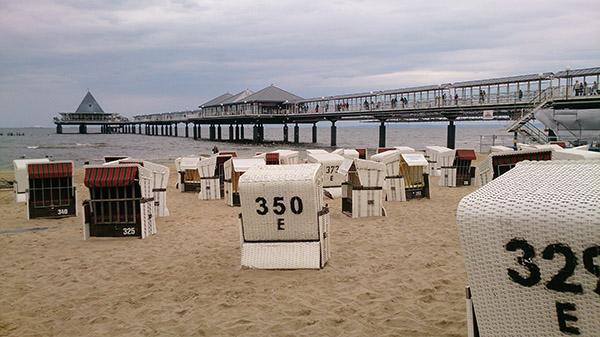 Strandkorb Ruegen Insel 2015