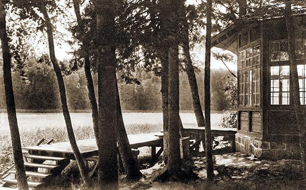 Teehauschen der Kaiserin am Marinowosee