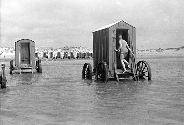 bathing machines