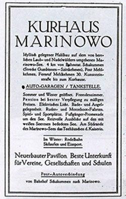kurhaus marinowo reklama