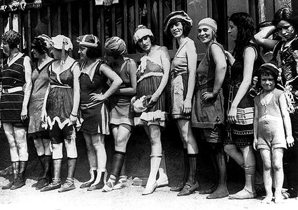 vintage bathingsuits 1920
