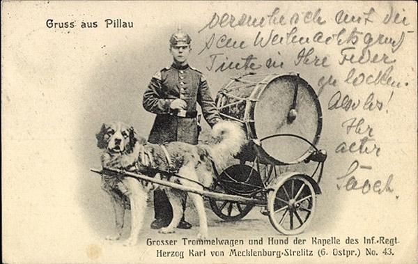 Pillau Trommelwagen 1910