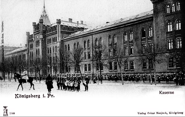 Steindammer Kaserne Winter