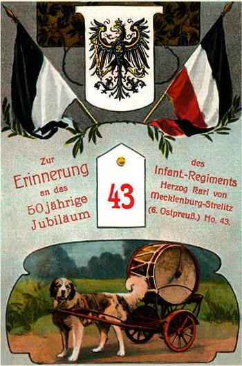 Zur Erinnerung 43 er Inf-Reg