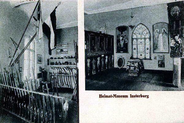 Инстербургский краеведческий музей Heimat museum Insterburg_