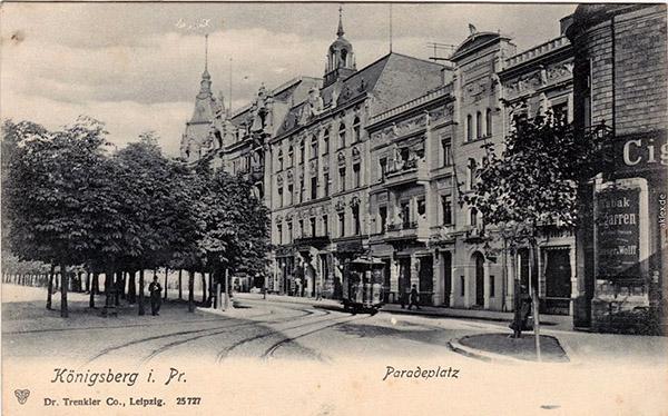 Königsberg - Paradeplatz