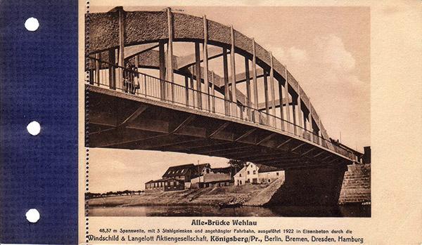 Wehlau Alle-Bruecke мосты велау