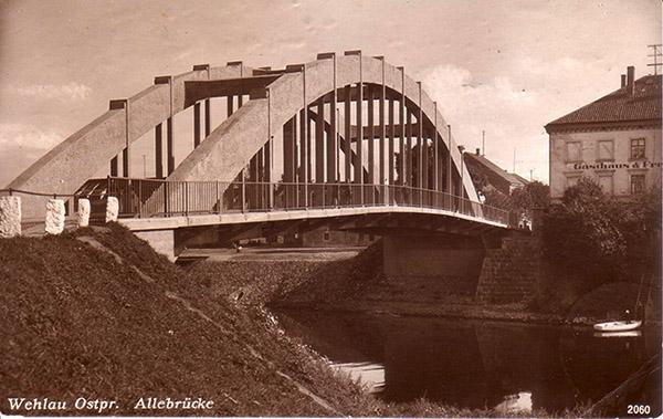 Wehlau Allebruecke 1927