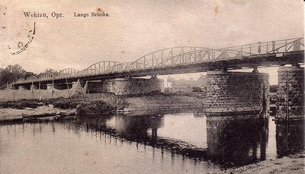 Wehlau Langebrucke 1922