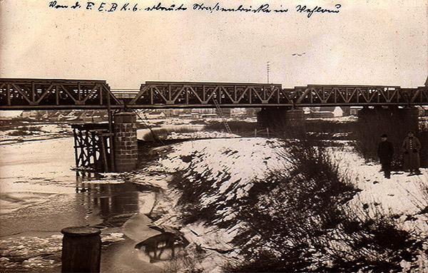 wehlau eisenbahnbridge