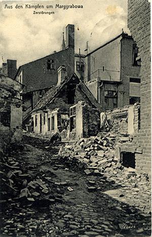 Marggrabowa Ersten Weltkrieg