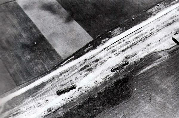 Schackkummen Airphoto 1943 Специальные поезда Германа Геринга