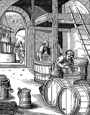 XVI-th century brewer пивоварение в восточной пруссии