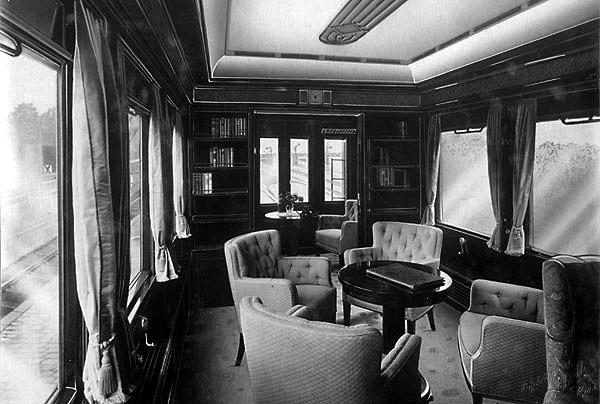 Zug salon Специальные поезда Германа Геринга в Роминтской пуще