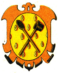 Zunftwappen der Brauer пивоварение в средние века
