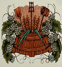 Zunftwappen der Brauer пиво в средние века